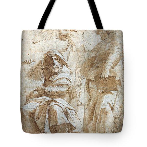 Raphael: Study, C1510 Tote Bag by Granger