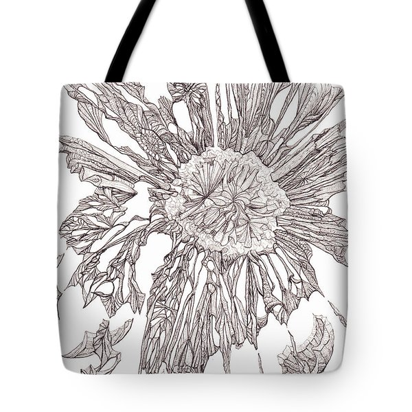 Breaking Free.    0111-1 Tote Bag by Charles Cater