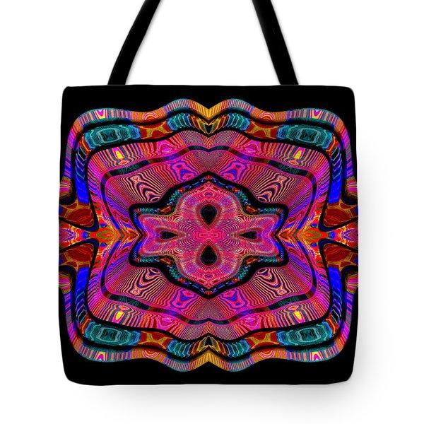Tote Bag featuring the digital art #011120169 by Visual Artist Frank Bonilla