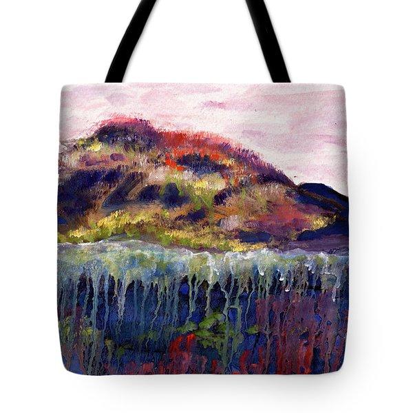01252 Big Island Tote Bag by AnneKarin Glass
