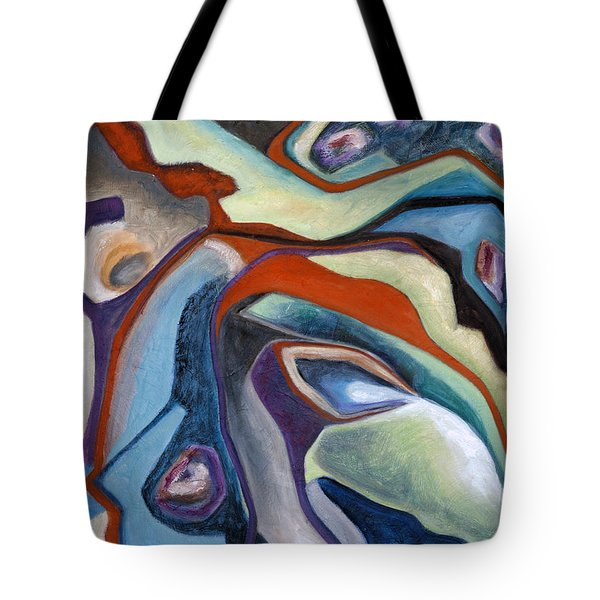 01318 Maybe Tote Bag by AnneKarin Glass