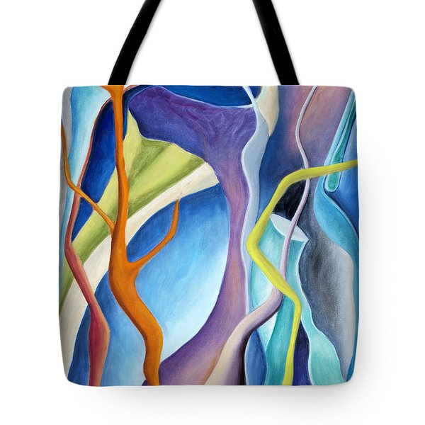 01322 Aspiration Tote Bag by AnneKarin Glass