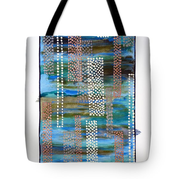 01332 Straight Tote Bag by AnneKarin Glass