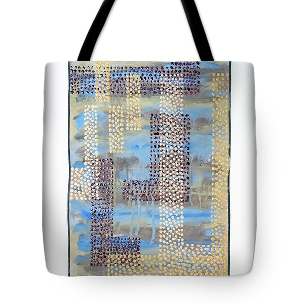 01334 Over Tote Bag by AnneKarin Glass