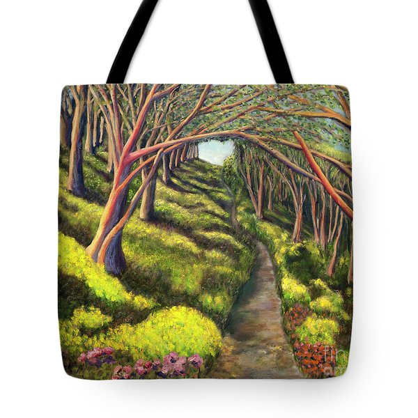 01350  Spring  Tote Bag by AnneKarin Glass