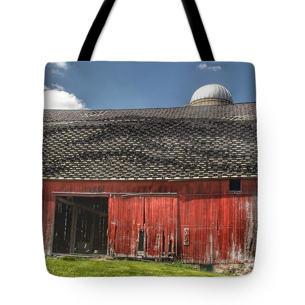 0181 Hollenbeck Road Red II Tote Bag