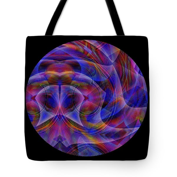 Tote Bag featuring the digital art #021120163 by Visual Artist Frank Bonilla