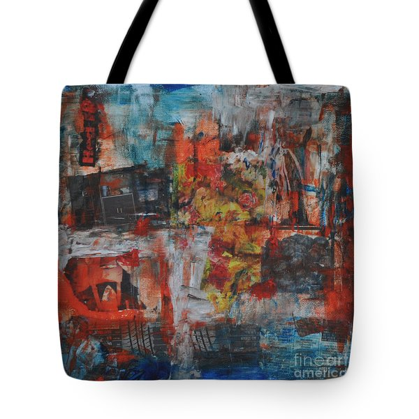 027 Abstract Thought Tote Bag