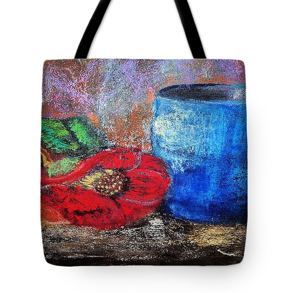 04042008 Digital Pastel Still Life Tote Bag