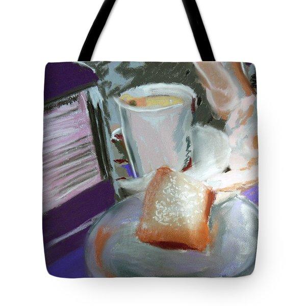 040517 Beni Gets And Coffee Tote Bag