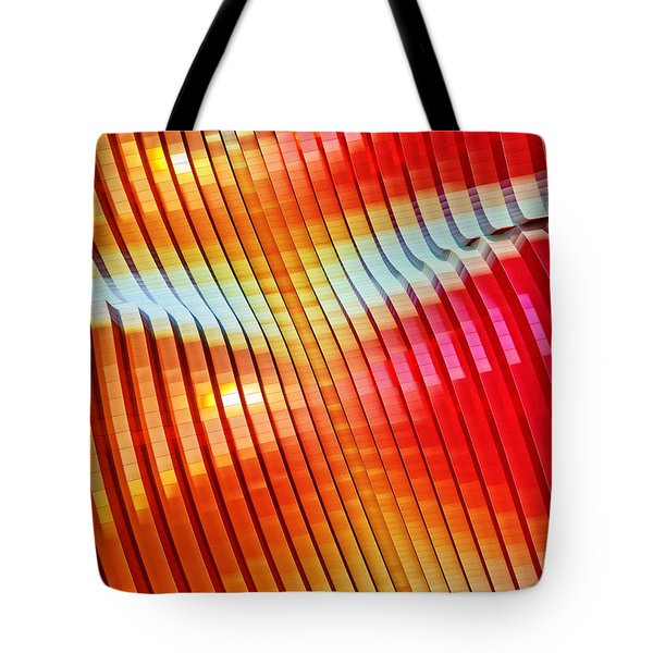Tote Bag featuring the digital art 041215 by Matt Lindley