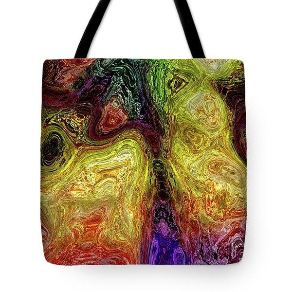 Tote Bag featuring the digital art 043016 by Matt Lindley