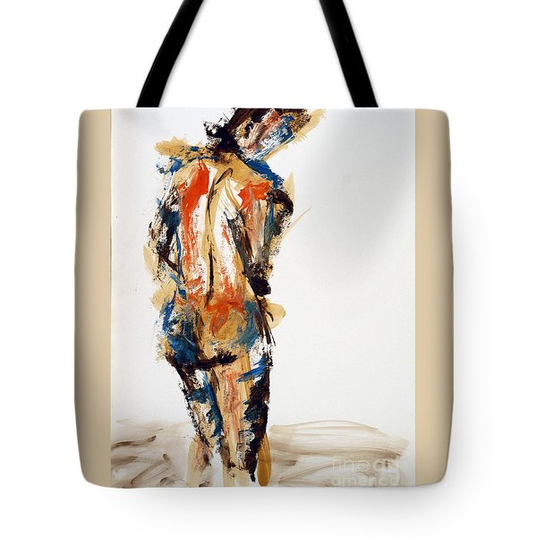 04855 No Regrets Tote Bag by AnneKarin Glass