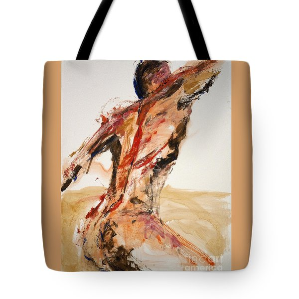 04861 Letting Go Tote Bag by AnneKarin Glass