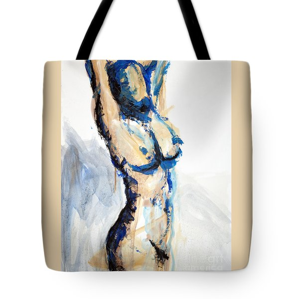 04880 Delighted Tote Bag by AnneKarin Glass