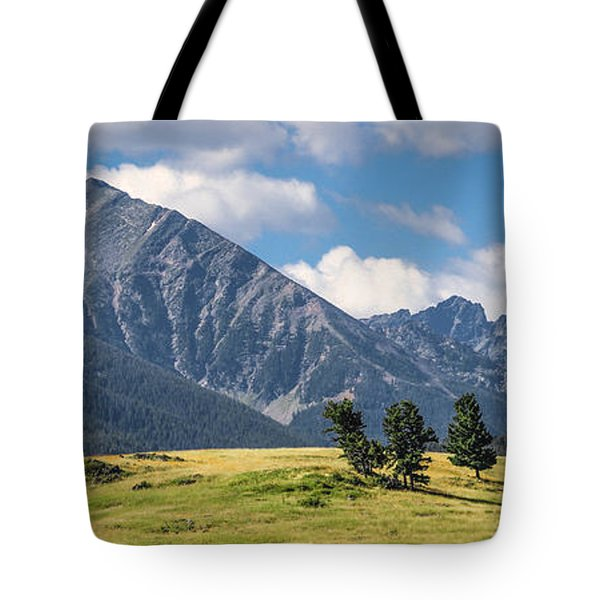 #0491 - Spanish Peaks, Southwest Montana Tote Bag