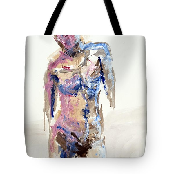 04913 Arriving Home Tote Bag by AnneKarin Glass