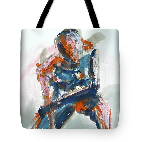 04954 Athlete Tote Bag by AnneKarin Glass