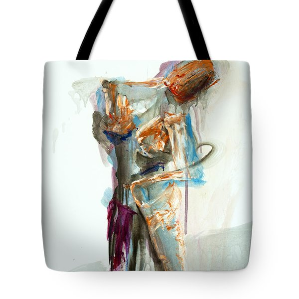 04957 Second Thoughts Tote Bag by AnneKarin Glass