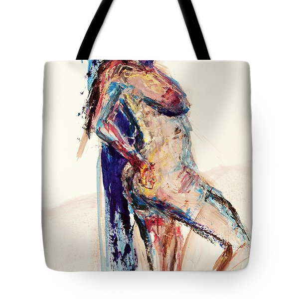 04994 Wait Tote Bag by AnneKarin Glass
