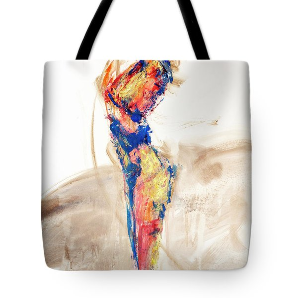 04997 Bird Call Tote Bag by AnneKarin Glass