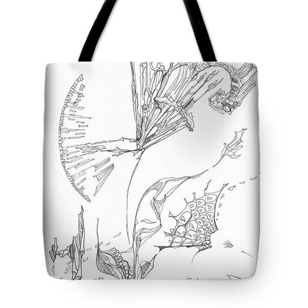 Unravelled       0511-18 Tote Bag by Charles Cater