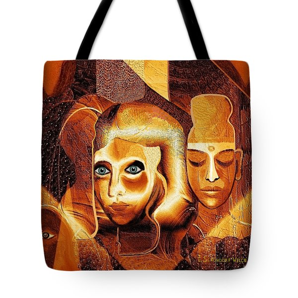 053 - Golden People A Tote Bag