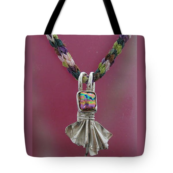 0558 Fan The Flames Tote Bag by Dianne Brooks