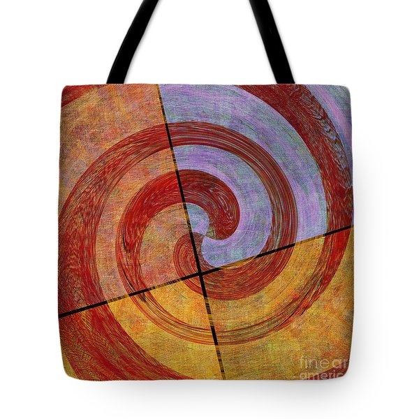 0581 Abstract Thought Tote Bag