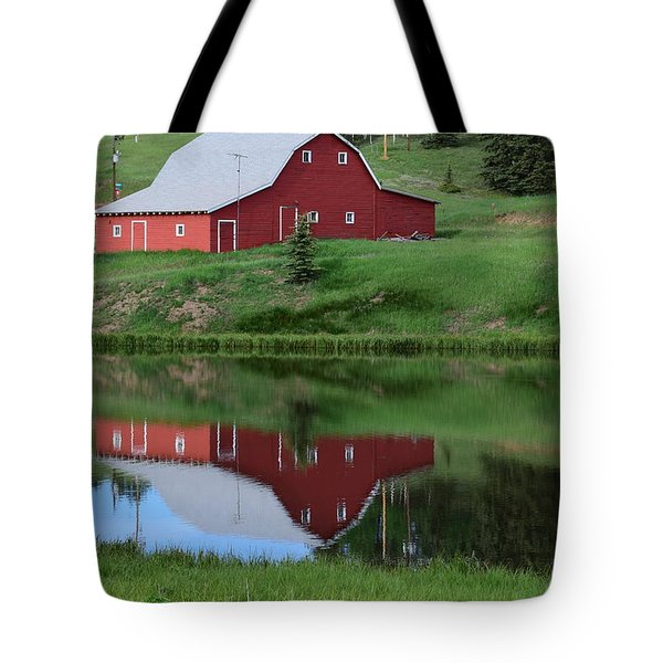 Red Barn Burgess Res Divide Co Tote Bag