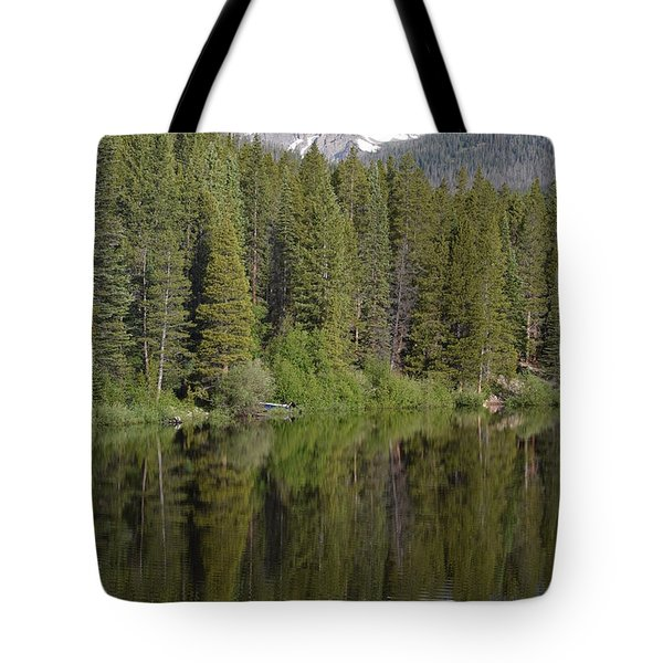 Tote Bag featuring the photograph Chambers Lake Hwy 14 Co by Margarethe Binkley
