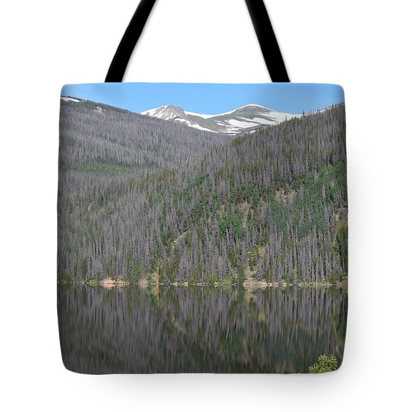 Tote Bag featuring the photograph Chambers Lake Reflection Hwy 14 Co by Margarethe Binkley