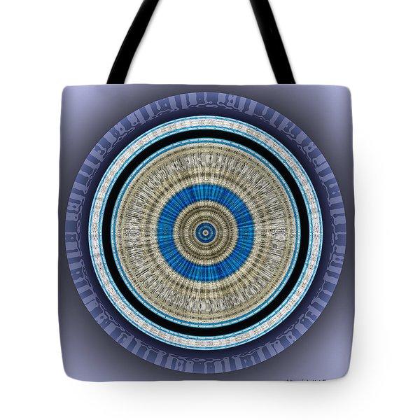 Tote Bag featuring the digital art #062720151 by Visual Artist Frank Bonilla