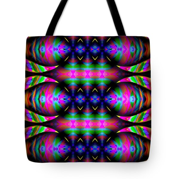 Tote Bag featuring the digital art #0627201523 by Visual Artist Frank Bonilla