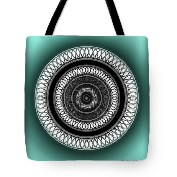 Tote Bag featuring the digital art #062720153 by Visual Artist Frank Bonilla