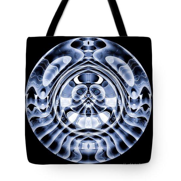Tote Bag featuring the digital art #062820157 by Visual Artist Frank Bonilla