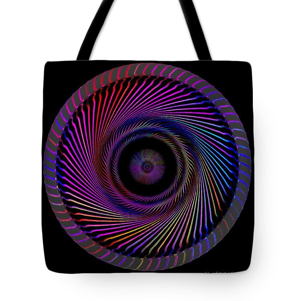 Tote Bag featuring the digital art #062820158 by Visual Artist Frank Bonilla