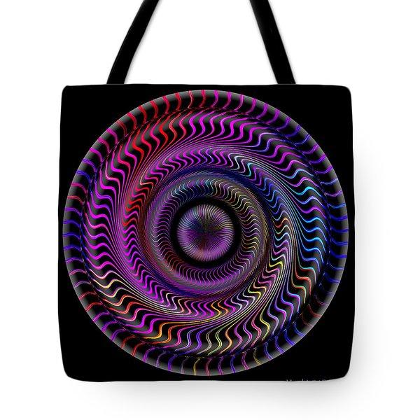 Tote Bag featuring the digital art #062820159 by Visual Artist Frank Bonilla