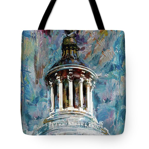 063 United States Capitol Dome Tote Bag
