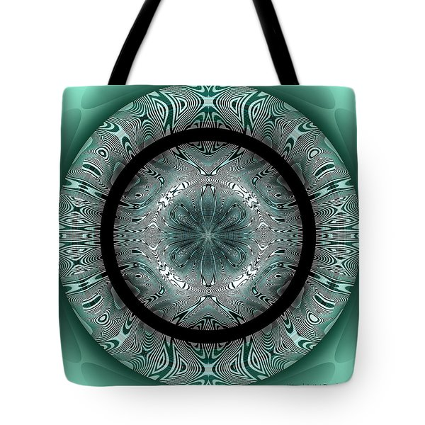 Tote Bag featuring the digital art #070420152 by Visual Artist Frank Bonilla