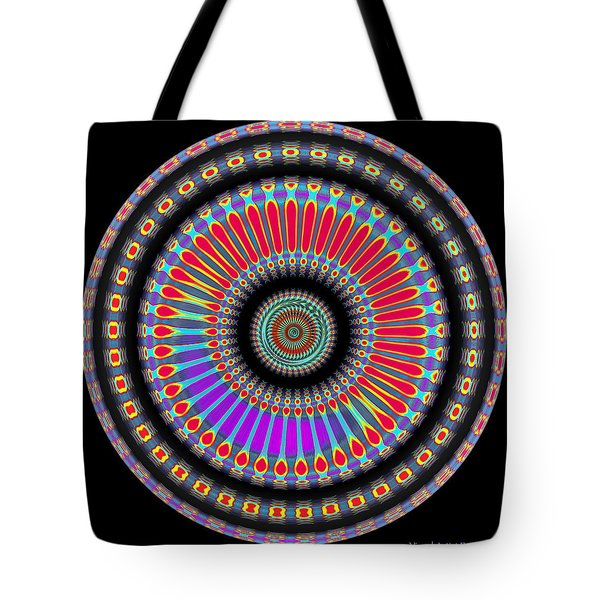 Tote Bag featuring the digital art #070520153 by Visual Artist Frank Bonilla