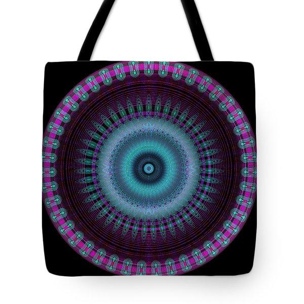 Tote Bag featuring the digital art #070920154 by Visual Artist Frank Bonilla