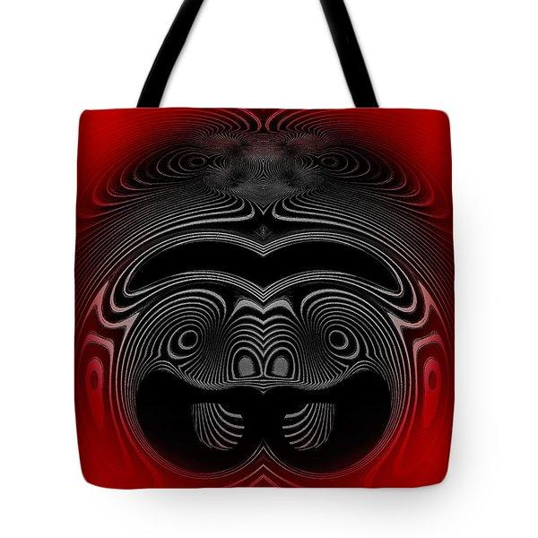 Tote Bag featuring the digital art #071020151 by Visual Artist Frank Bonilla