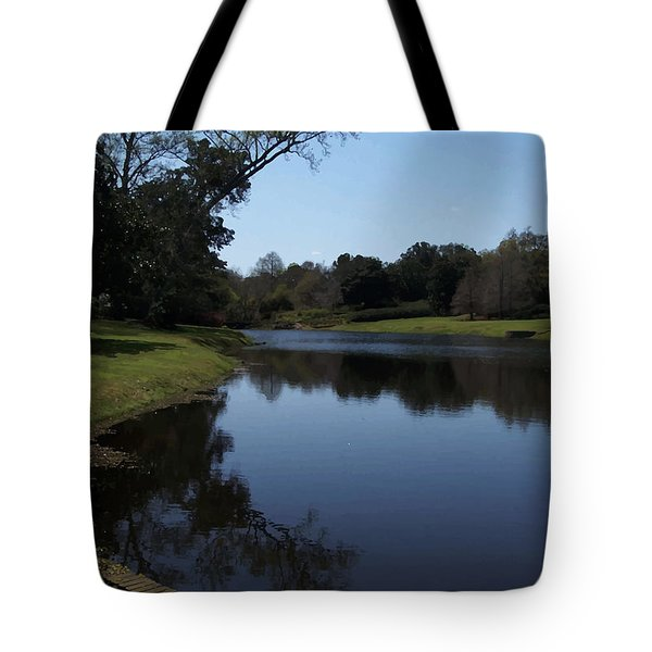 071115 Louisiana Bayou Tote Bag