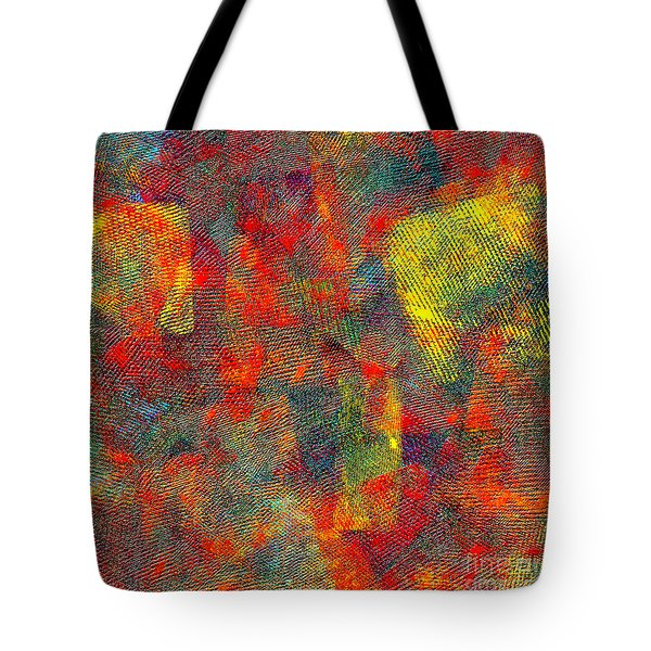 0786 Abstract Thought Tote Bag