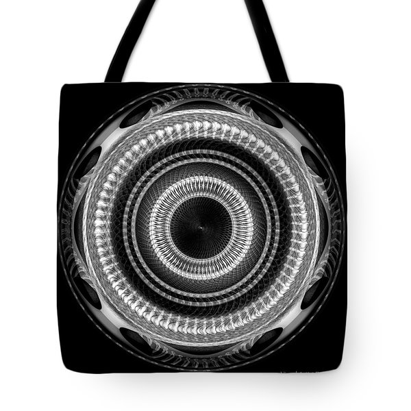 #091520151 Black And White Version Tote Bag