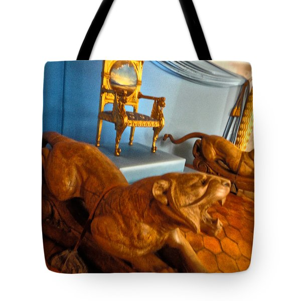 Pubol Spain Gala Castle Tote Bag by Gregory Dyer