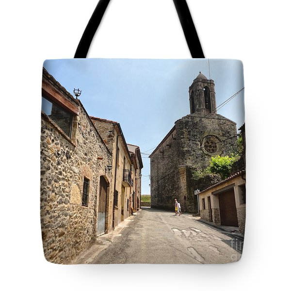 Tote Bag featuring the photograph  Pubol Spain by Gregory Dyer