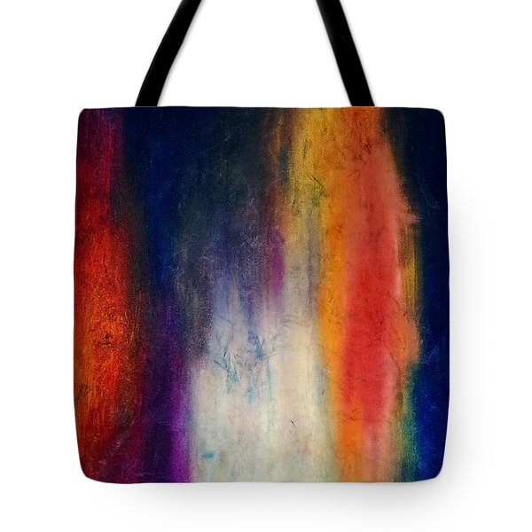 Standing Naked In The Mirror Tote Bag by Sue McElligott