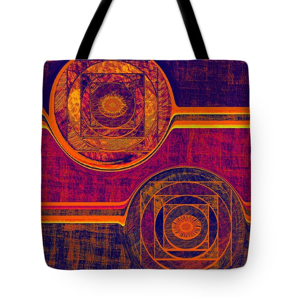 0523 Abstract Thought Tote Bag